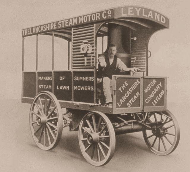 LEYLAND - HISTORIA DE LOS CAMIONES